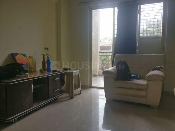 Living Room Image of 963 Sq.ft 2 BHK Apartment for rent in Wagholi for 14000