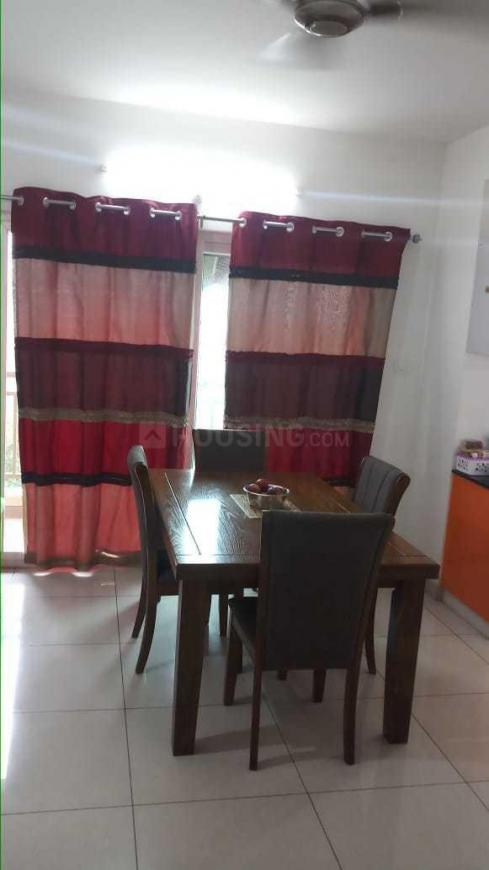 Dining Area Image of 1200 Sq.ft 2 BHK Apartment for rent in Peeramcheru for 25000