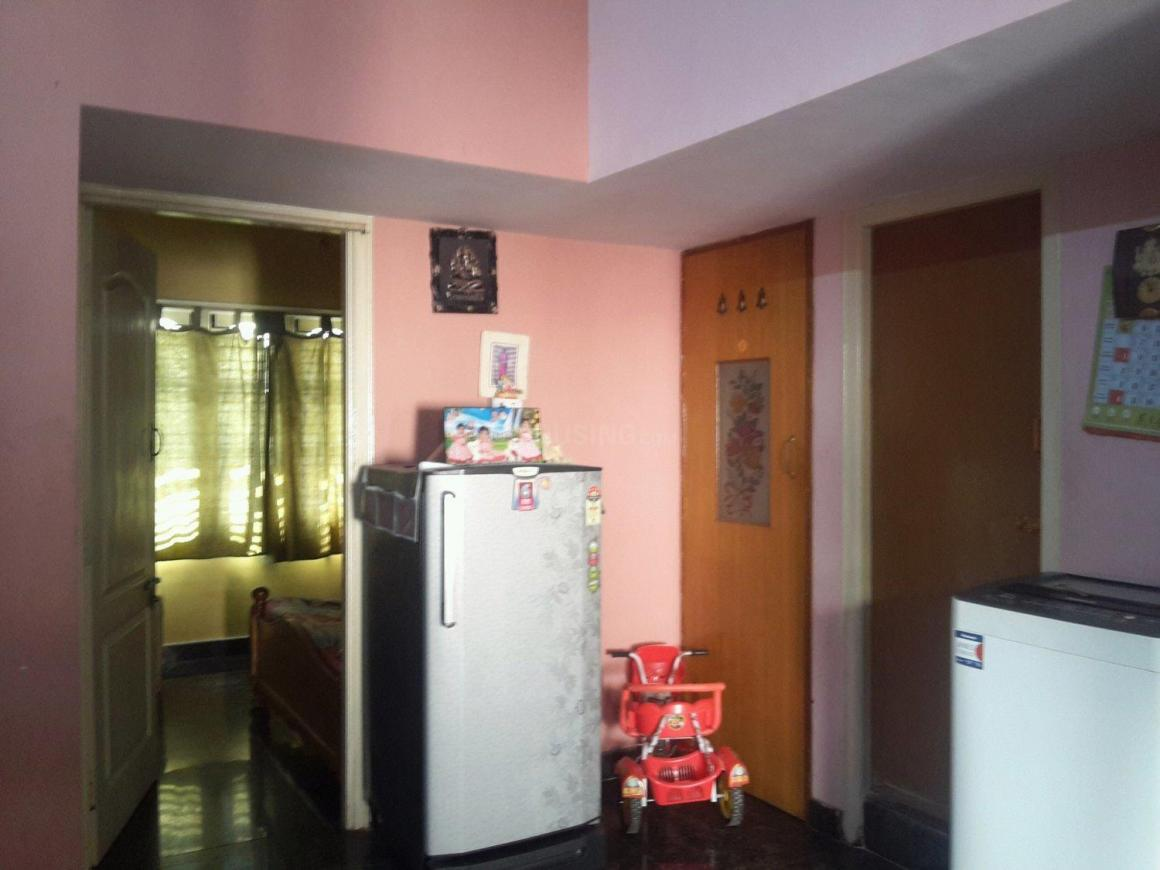 Living Room Image of 600 Sq.ft 1 BHK Apartment for rent in Padmanabhanagar for 7500