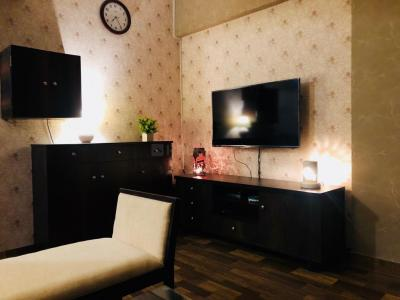 Gallery Cover Image of 521 Sq.ft 1 BHK Apartment for rent in Sethia Sea View, Goregaon West for 29000