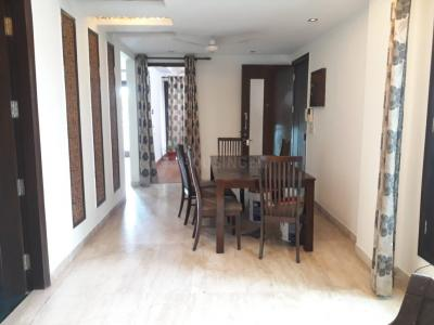 Gallery Cover Image of 1550 Sq.ft 3 BHK Independent Floor for buy in Said-Ul-Ajaib for 7600000