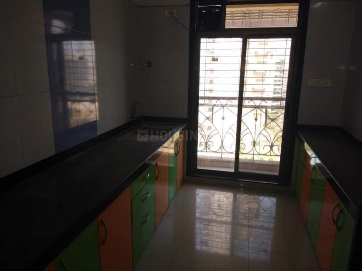 Kitchen Image of 650 Sq.ft 1 BHK Apartment for rent in Kamothe for 14000