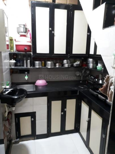Kitchen Image of 480 Sq.ft 1 BHK Independent House for rent in Vikhroli West for 15000