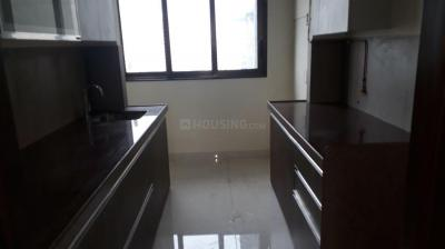 Kitchen Image of 1050 Sq.ft 3 BHK Apartment for rent in Wadhwa Atmosphere Phase 1, Mulund West for 45000