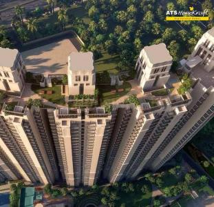 Gallery Cover Image of 1720 Sq.ft 3 BHK Apartment for buy in ATS Floral Pathways, Wave City for 6450000