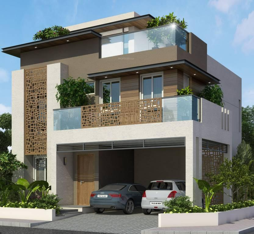 Building Image of 1607 Sq.ft 3 BHK Independent House for buy in Thiruverkkadu for 10600000