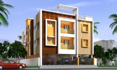 Gallery Cover Image of 1341 Sq.ft 3 BHK Apartment for buy in  South kolathur for 7509600
