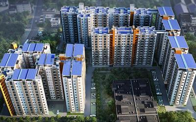 Gallery Cover Image of 1622 Sq.ft 3 BHK Apartment for buy in Ahad Opus, Carmelaram for 12000001