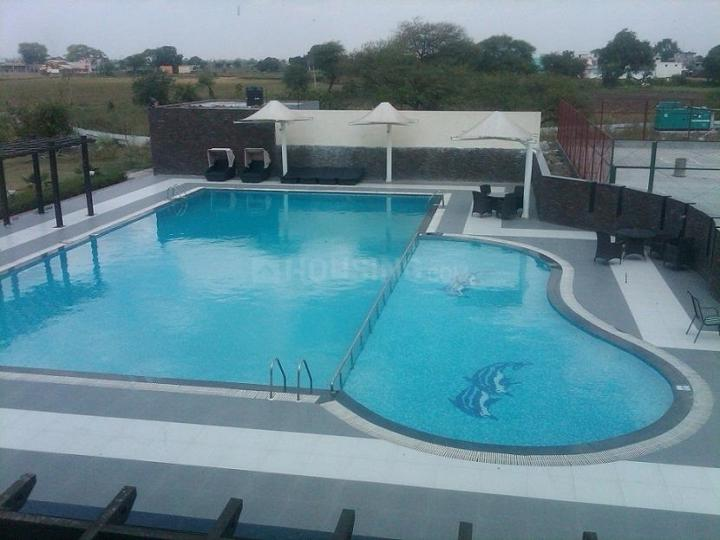 Swimming Pool Image of 1100 Sq.ft 3 BHK Villa for buy in Shubhangan, Omex City for 2975000