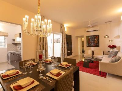 Gallery Cover Image of 1428 Sq.ft 3 BHK Apartment for buy in Casagrand Savoye, Karapakkam for 7000000