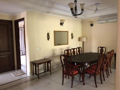 Gallery Cover Image of 2700 Sq.ft 4 BHK Independent Floor for rent in Saket for 90000