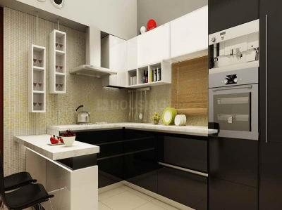 Kitchen Image of 1436 Sq.ft 3 BHK Apartment for buy in VTP Solitaire Phase 1 A B, Pashan for 11108070