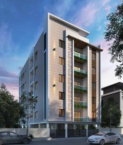 Gallery Cover Image of 1545 Sq.ft 3 BHK Apartment for buy in Masab Tank for 8497500