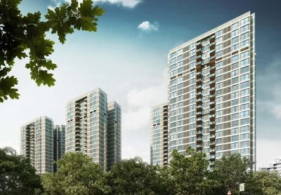 Gallery Cover Image of 1650 Sq.ft 4 BHK Apartment for buy in Rustomjee Seasons, Bandra East for 96220000