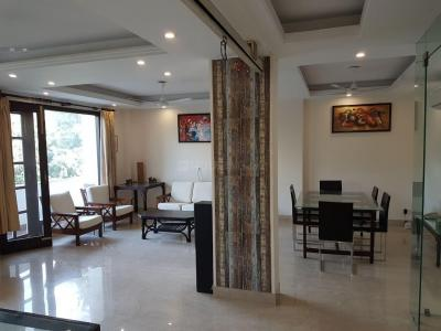 Gallery Cover Image of 3600 Sq.ft 3 BHK Independent House for rent in Hauz Khas for 90000
