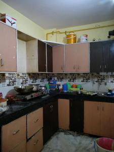 Kitchen Image of Rudra PG in Bindapur