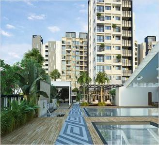 Gallery Cover Image of 1215 Sq.ft 2 BHK Apartment for rent in DSR Waterscape, K Channasandra for 22000