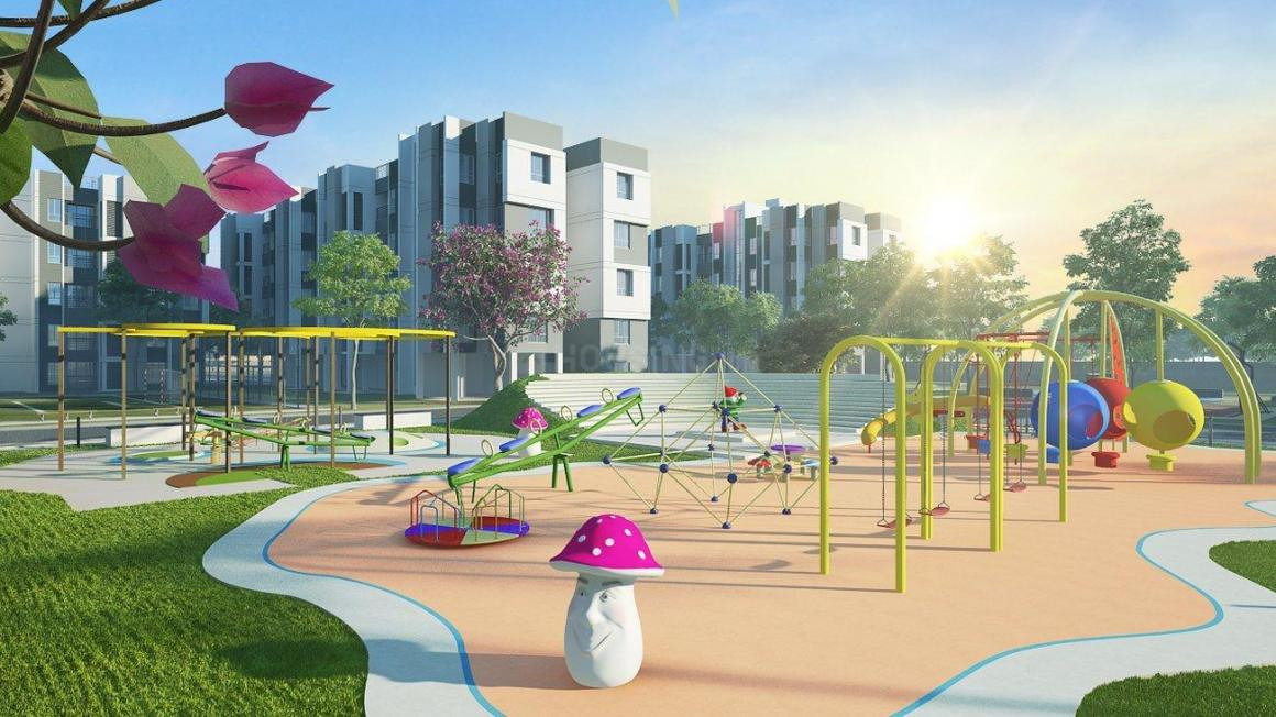 Playing Area Image of 767 Sq.ft 2 BHK Apartment for buy in Joka for 1730000