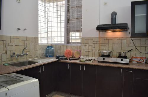 सेक्टर 49 में धार हाउस लीलैक II के किचन की तस्वीर