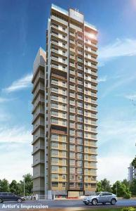 Gallery Cover Image of 651 Sq.ft 1 BHK Apartment for buy in Romell Allure, Borivali East for 9800000
