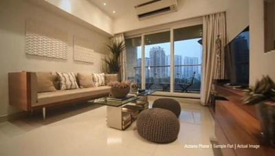 Gallery Cover Image of 910 Sq.ft 2 BHK Apartment for buy in Rustomjee Urbania Aurelia, Thane West for 10300000