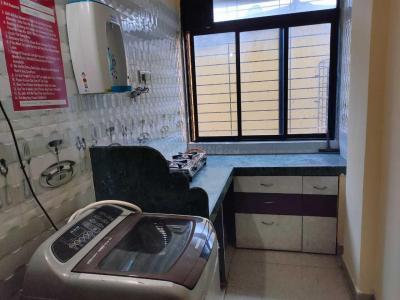 Kitchen Image of Moti Enterprises PG in Ghansoli