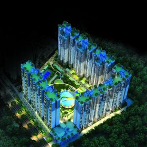 Gallery Cover Image of 945 Sq.ft 2 BHK Apartment for buy in Shri Group Radha Sky Park, Noida Extension for 3058000