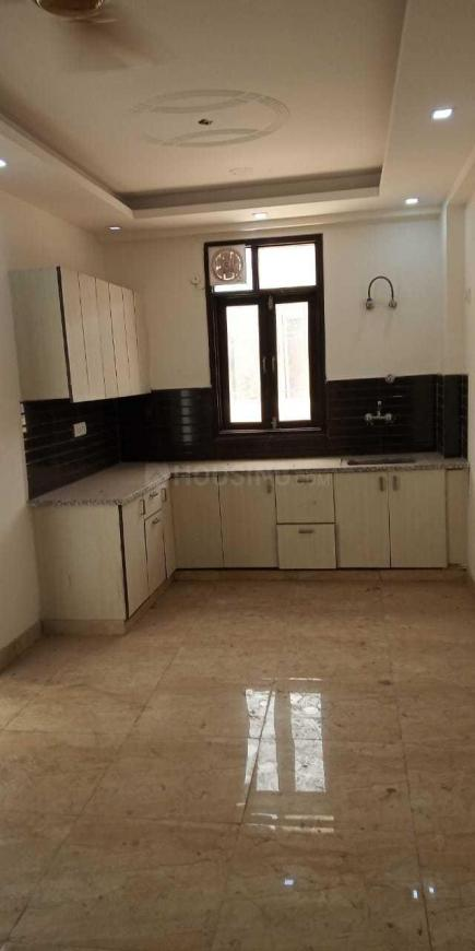 Kitchen Image of 500 Sq.ft 1 BHK Independent Floor for buy in Chhattarpur for 1500000