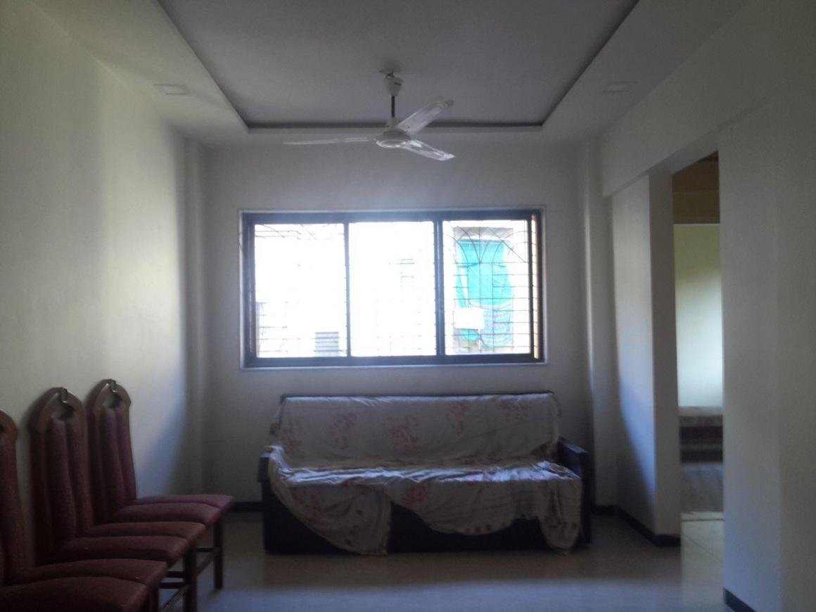 Living Room Image of 760 Sq.ft 2 BHK Apartment for rent in Airoli for 22000