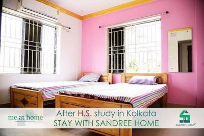 Bedroom Image of Sandree Home PG in New Town