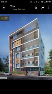 Gallery Cover Image of 1150 Sq.ft 3 BHK Apartment for rent in Yousufguda for 20500