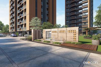 Gallery Cover Image of 1672 Sq.ft 3 BHK Apartment for buy in Satyam Skyline II, Naranpura for 10199200