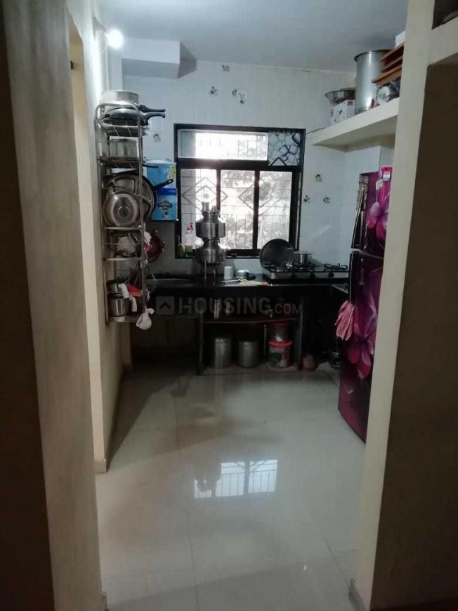 Kitchen Image of 635 Sq.ft 1 BHK Apartment for rent in Badlapur East for 5500