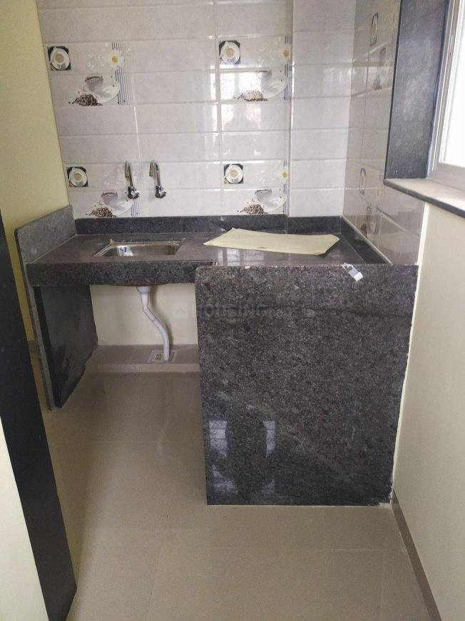 Kitchen Image of 350 Sq.ft 1 RK Independent House for rent in Kharadi for 8000