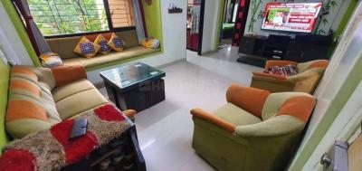 Gallery Cover Image of 1200 Sq.ft 2 BHK Apartment for rent in Megha Monalisa, Kopar Khairane for 32000