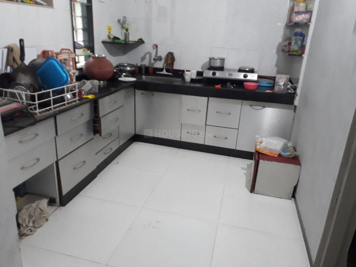 Kitchen Image of 600 Sq.ft 1 BHK Apartment for rent in Bibwewadi for 13000