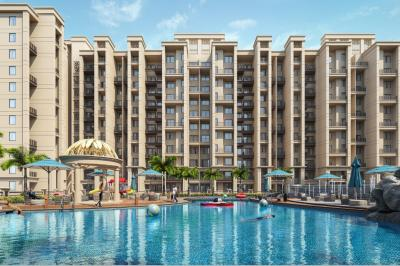 Gallery Cover Image of 1409 Sq.ft 3 BHK Apartment for buy in Oxyfresh Homes, Rohinjan for 9900000