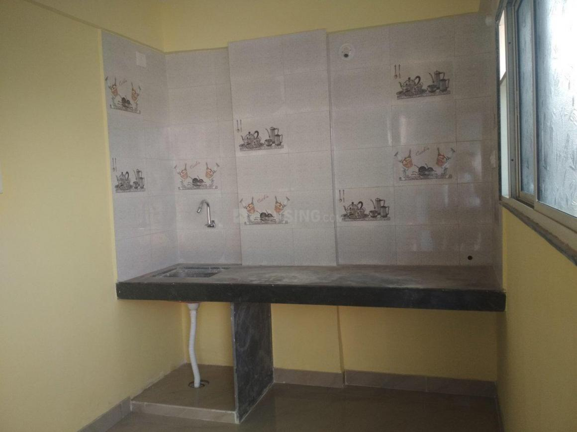 Kitchen Image of 560 Sq.ft 1 RK Apartment for rent in Wagholi for 5500