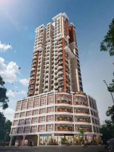 Gallery Cover Image of 600 Sq.ft 1 BHK Apartment for rent in Seven Tides Fortune Gardens, Byculla for 35000