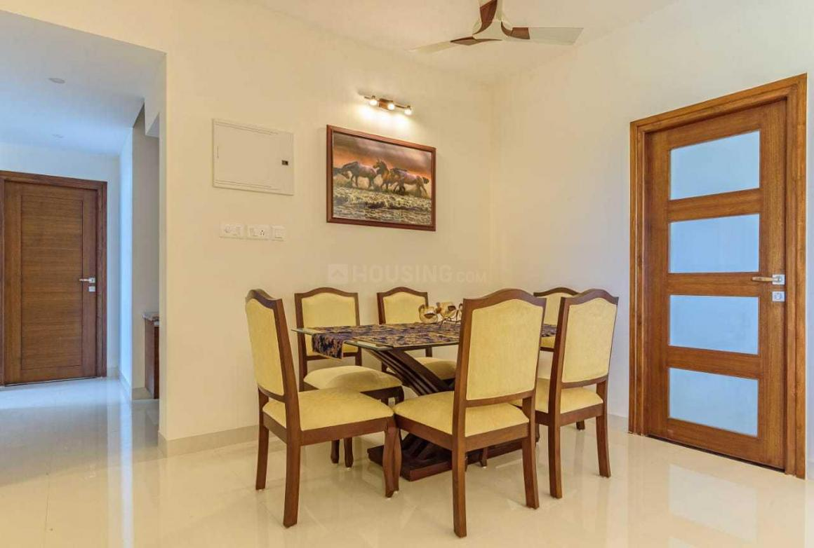 Dining Area Image of 1777 Sq.ft 3 BHK Apartment for buy in Mormugao for 9800000