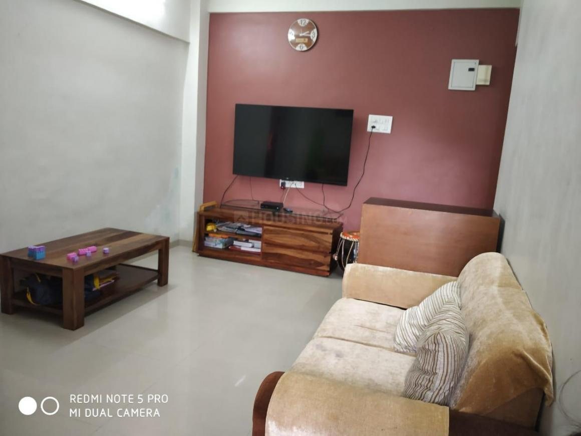 Living Room Image of 1000 Sq.ft 2 BHK Apartment for rent in Nerul for 28000