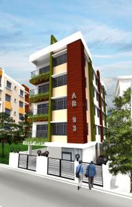 Gallery Cover Image of 1355 Sq.ft 3 BHK Apartment for buy in New Town for 6368000