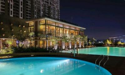 Gallery Cover Image of 1000 Sq.ft 2 BHK Apartment for buy in Lodha Amara Tower 26 27 28 30 34 35, Thane West for 11000000