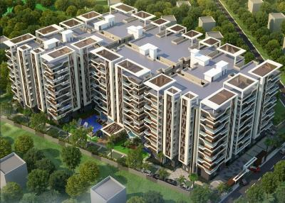 Gallery Cover Image of 2305 Sq.ft 3 BHK Apartment for buy in Vidhya Nagar for 9500000