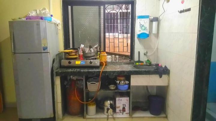 ऐरोली में माइ पीजी होम के किचन की तस्वीर