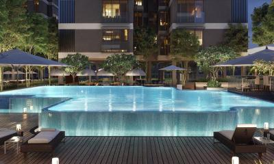 Gallery Cover Image of 1400 Sq.ft 3 BHK Apartment for buy in Rustomjee Seasons Wing B, Bandra East for 56600000