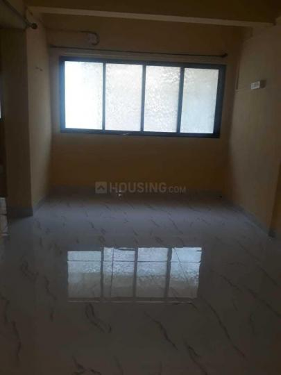 Living Room Image of 760 Sq.ft 1 BHK Apartment for rent in Airoli for 17000