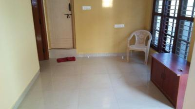 Gallery Cover Image of 650 Sq.ft 1 BHK Independent House for rent in Murugeshpalya for 14000