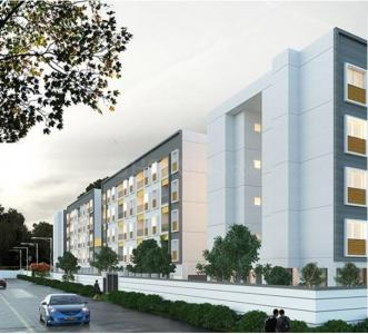 Gallery Cover Image of 748 Sq.ft 1 BHK Apartment for buy in Padapai for 2600000