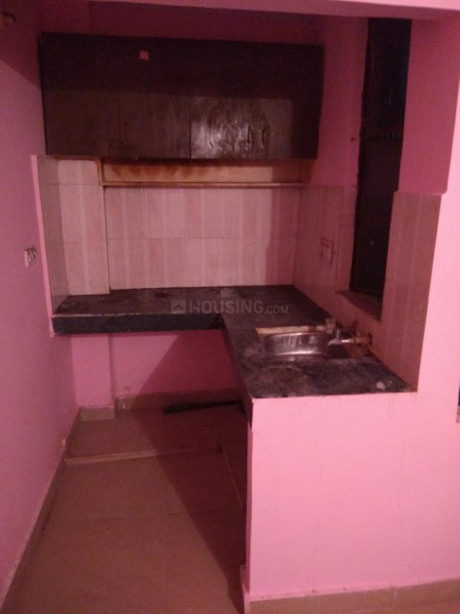 Kitchen Image of 500 Sq.ft 1 BHK Independent Floor for buy in Uttam Nagar for 1300000